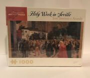 Pomegranate Artpiece 1000 Piece Puzzle - Holy Week In Seville - New Seal Box