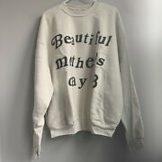 Kanye West X Cpfm Beautiful Mother's Day 2019 Crewneck