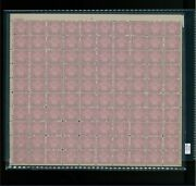 1931 United States Postage Stamp 701 Plate No. 20553 Mint Full Sheet
