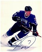 Keith Tkachuk Western Conference All Star Signed Autographed 8x10 Color Photo