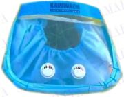 Kawwach Face Guard Mask 4-in-1 Protection Washable Anti Fog Dual Respirator X100
