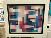Yaacov Agam Agamograph Hot Times Signed And Numbered Limited Edition Framed