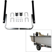 40 Inch Pvc Boat Trailer Post Guide On With Unlighted Posts With Hardware - Pair
