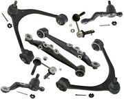 Suspension Kit Upper Lower Control Arms Lower Ball Joints Sway Lexus Sc430 4.3l