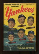 Thrilling True Story Of The Baseball Yankees 4.5 Mantle Berra Dimaggio Cover