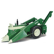1/16 Oliver 1600 Tractor With Mounted 74h Corn Picker Farm Tech Days Spec Cast