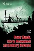 Power Supply Energy Management And Catenary Problems English Hardcover Book F