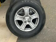 5 Jeep Wrangler Michelin Wheels And Tires, Used Like New 11,000 Miles On Them.