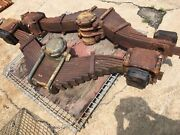 Military 10 Ton M123 G792 Mack 6x6 Rear Axle Springs, Set Of 2, Used