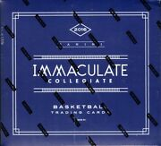 2016/17 Panini Immaculate Collegiate Basketball Hobby 5 Box Case Blowout Cards