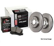 Eeuroparts Oe Replacement Metallic Front Disc Brake Pad And Rotor Kit