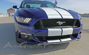 Racing Stripes 10 Inch Wide Hood Decals Gt 3m Pro Vinyl 2015-2017 Ford Mustang C