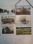 Antique Postcards Ww1/2 Us Military Dog Tents Waacs Camp Pc 1910 Some Earlier