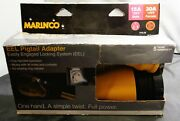 Marinco Eel Pigtail Adapter- 15a 125v Male- 30a 125v Female [p15-30]