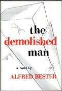The Demolished Man By Alfred Bester. 1st Edition.