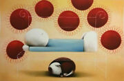 A Summer Snooze By Doug Hyde. Mounted With Coa. In Stock Quick Delivery. Rare