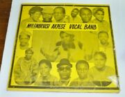 Mile Norvisi Akpese Vocal Band Lp Record Ghana Africa