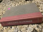 Armand Hammer The Untold Story By Steve Weinberg Signed - 1989 First Ed Hc Bio