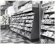 Drug Store Pharmacy Product Displays Dayton Ohio Vintage 1950and039s Commercial Photo