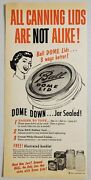 1953 Print Ad Ball Canning Jars Lids Sealed Made In Muncie,indiana