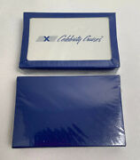 Two Packs Celebrity Cruise Line Ship Cruise Playing Cards Sealed