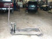 Green Colored Lewis Shepard Co. Truck Lift. Works Fine And Moves Very Easy.andnbsp