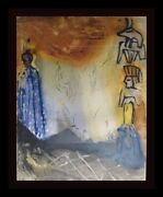Dali Moses And Monotheism Nightmare Of Mose Hand Sig Dali Archives Certified Art