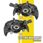 Wheel Hub Steering Knuckle Assembly Left And Right Set 09-13 Toyota Corolla Matrix