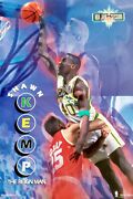 Shawn Kemp The Reign Man Seattle Supersonics 1993 Costacos Brothers 23x35 Poster