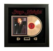 Suge Knight Signed Cut Framed Collage Death Row Jsa Coa Tupac Dr. Dre Autograph