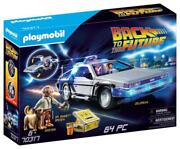 Back To The Future Delorean Playset - Playmobil