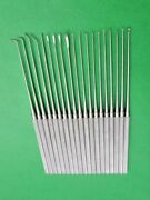 Expanded Micro Rhoton Dissector Set Of 19 Neurosurgical Instruments Rhoton