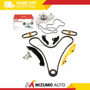 Timing Chain Kit Water Pump Fit 2011 Ford Edge 3.7l Dohc 24v