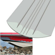 Megaware Keelguard 6and039 Keel Guard Marine Boat Protector Boats Up To 18 Light Gray