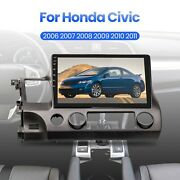 Car Dvd Player 10.1'' Android 9.1 Stereo Radio Gps Head Unit For Honda Civic