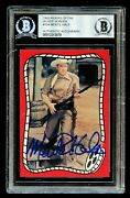 Monte Hale 104 Signed Autograph Auto 1993 Riders Of The Silver Screen Card Bas