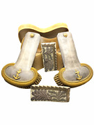 French France Navy Officers Shoulder Boards And Dress Collars In Case