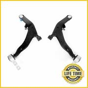2 Front Lower Control Arms W/ Ball Joint Set Pair For 2003-2007 Nissan Murano
