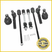 8x Suspension Kit Inner Outer Tie Rod Sway Bar Set Fits 1994-2004 Ford Mustang