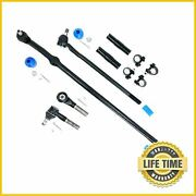 Suspension 6x Tie Rod End Drag Links Sleeves Kit For Ford Bronco F150 F250 F350