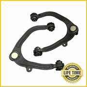 2x Front Upper Control Arm W/ Ball Joints Set For 2010 2011 2012-2014 Ford F-150