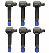 Set Of 6 Denso Direct Ignition Coils For Acura Cl Tl Rl Honda Accord Odyssey