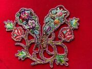 Antique Peranakan Straits Chinese Embroidery