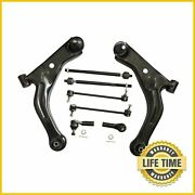 8x Suspension Kit Control Arm Tie Rod Sway Bar For Ford Escape Mariner Tribute