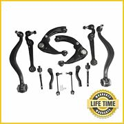 12x Suspension Kit Front Upper Lower Control Arm For 2006 2007 Ford Fusion Milan