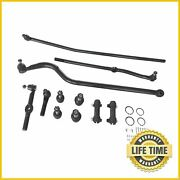 Track Bar Tie Rod End Link Ball Joint Kit For 1994-1997 Dodge Ram 2500 3500 4x4