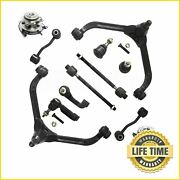 12x Suspension Kit Control Arms W/ Wheel Hub Assembly For 2006 2007 Jeep Liberty