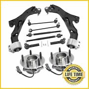 10x Suspension Control Arm Wheel Bearing Kit For Saturn Vue Chevy Equinox Abs