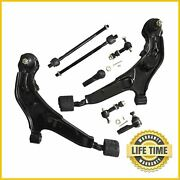 8x Suspension Kit Control Arms Tie Rod Sway Bar For Infiniti I30 Nissan Maxima