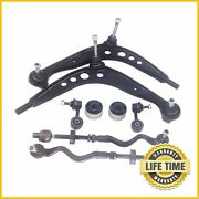 8x Suspension Kit Lower Control Arm Tie Rods Sway Bar Links For Bmw Z3 3 Series